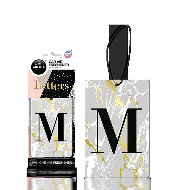 Letters ( M ) Black Image
