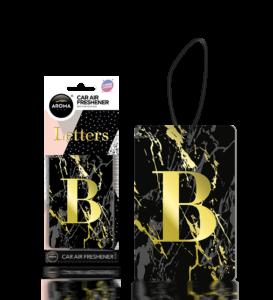Letters ( B ) Black Image
