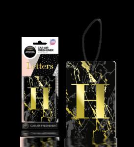 Letters ( H ) Black Image